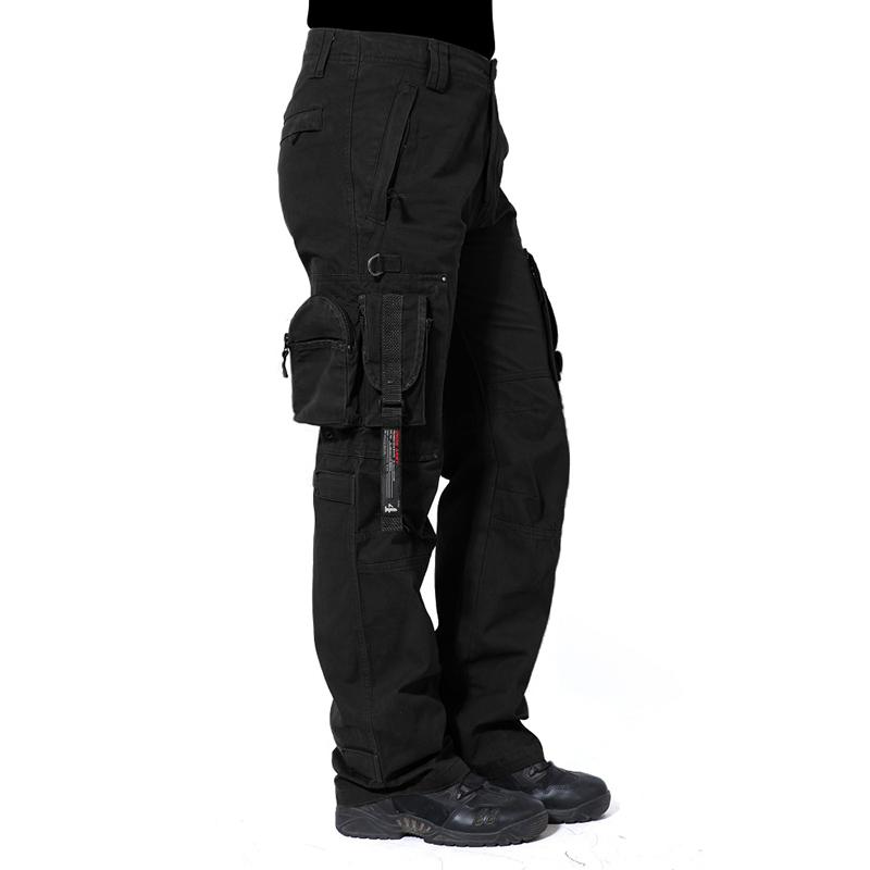 TACVASEN Men Military Cargo Pants Men Tactical ClothingArmy Combat  Trousers Male Casual Pants Muti-pockets Wear TD-GZTM-001