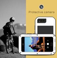 LOVE MEI Aluminum Metal Case For Xiaomi Mi 6 Cover Powerful Armor Shockproof Life Waterproof Case For Xiaomi 6 Mi6 M6