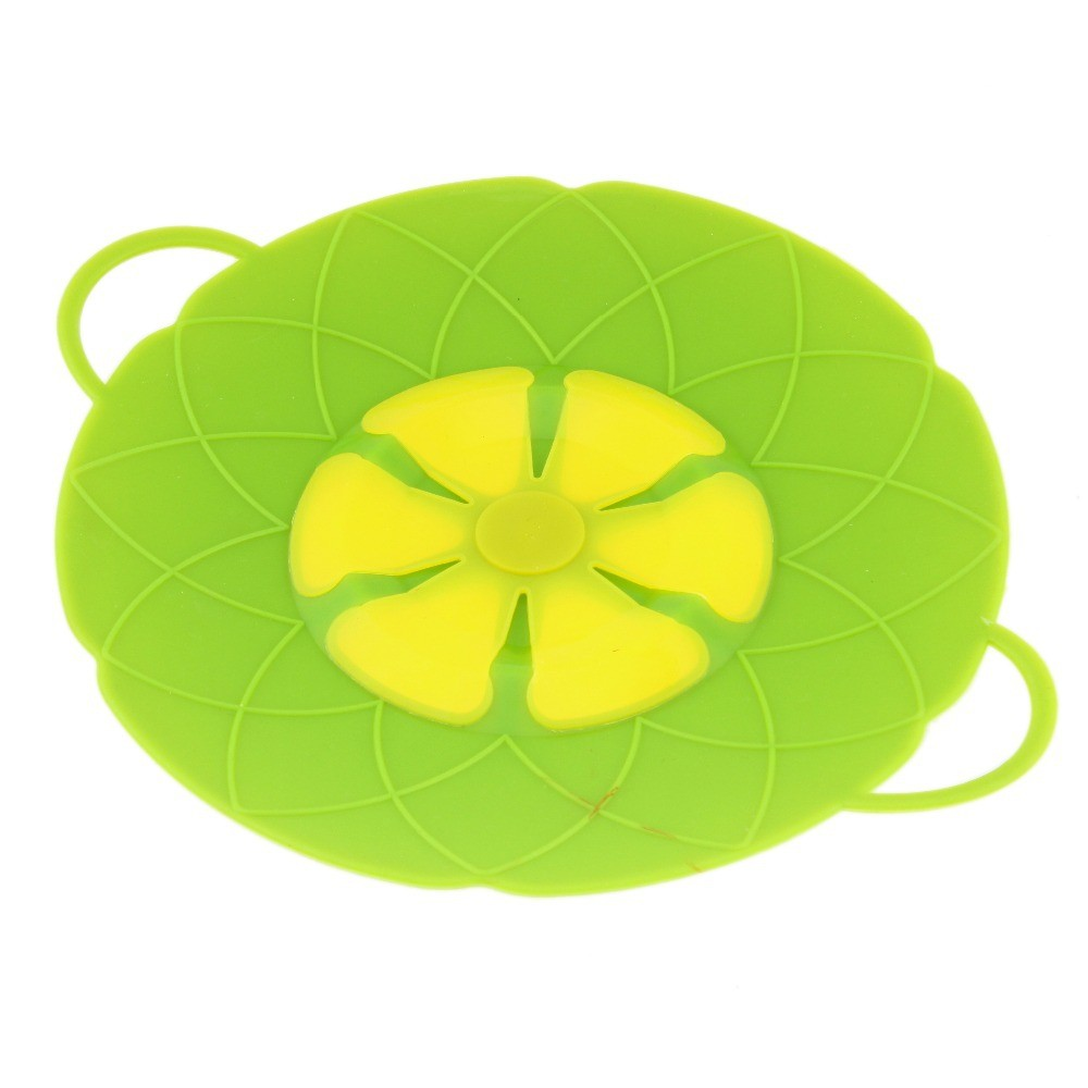 Multi-function-Cooking-Tools-Flower-Cookware-Parts-Green-Silicone-Boil-Over-Spill-lid-Stopper-Oven-Safe (3)