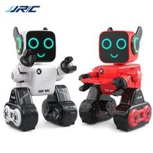 JJRC R4 Cute RC Robot Toy For Children Education With Piggy Bank Voice Control Intelligent Robots Remote Control Gesture Control цена 2017
