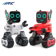 JJRC R4 Cute RC Robot Toy For Children Education With Piggy Bank Voice Control Intelligent Robots Remote Control Gesture Control(China)