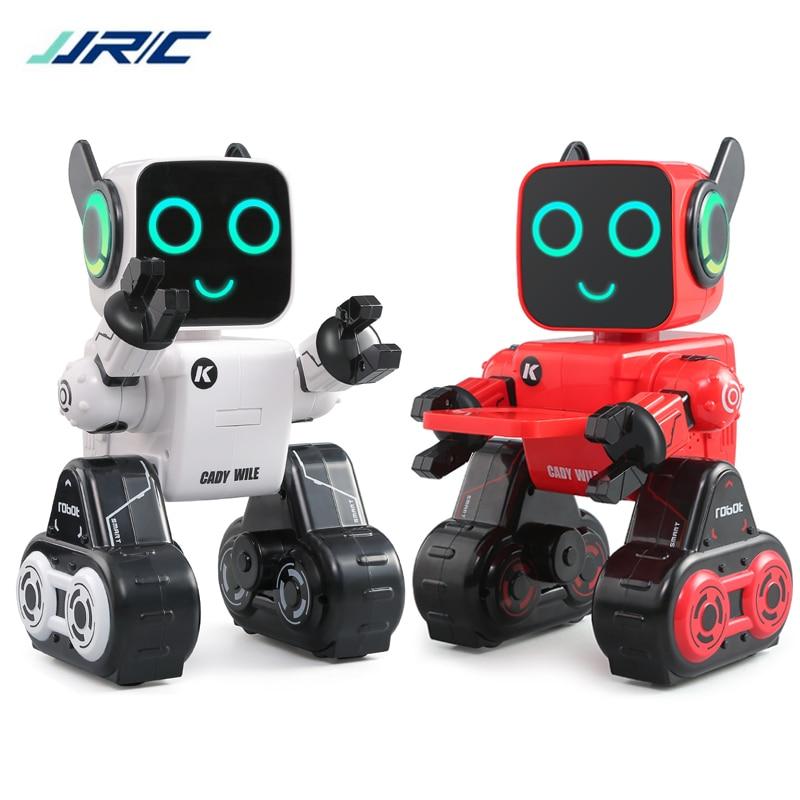 JJRC R4 милый радиоуправляемый робот игрушка для детей, обучающая игрушка с копилкой, голосовым управлением, умные роботы с дистанционным управлением, управление жестами|Робот с ДУ|   | АлиЭкспресс