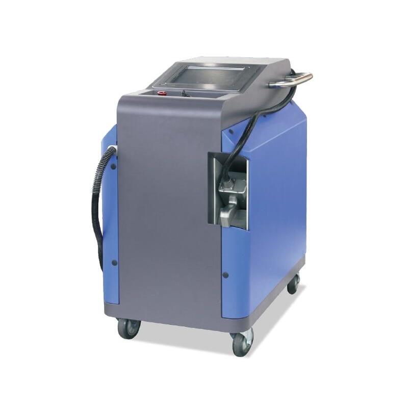 Новое поступление 100 Вт LY лазерный Бесконтактный удаления накипи удаления ржавчины clearning машина лазерной ржавчины из металла