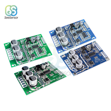 DC 12V-36V 500W PWM Brushless Motor Controller Hall Motor Voltage Speed Regulation Balanced Car Driver Control Board Module skyrc bma 01 brushless motor analyzer tester rpm kv voltage timing noise amp hall checker motolyzer for rc car part with lcd
