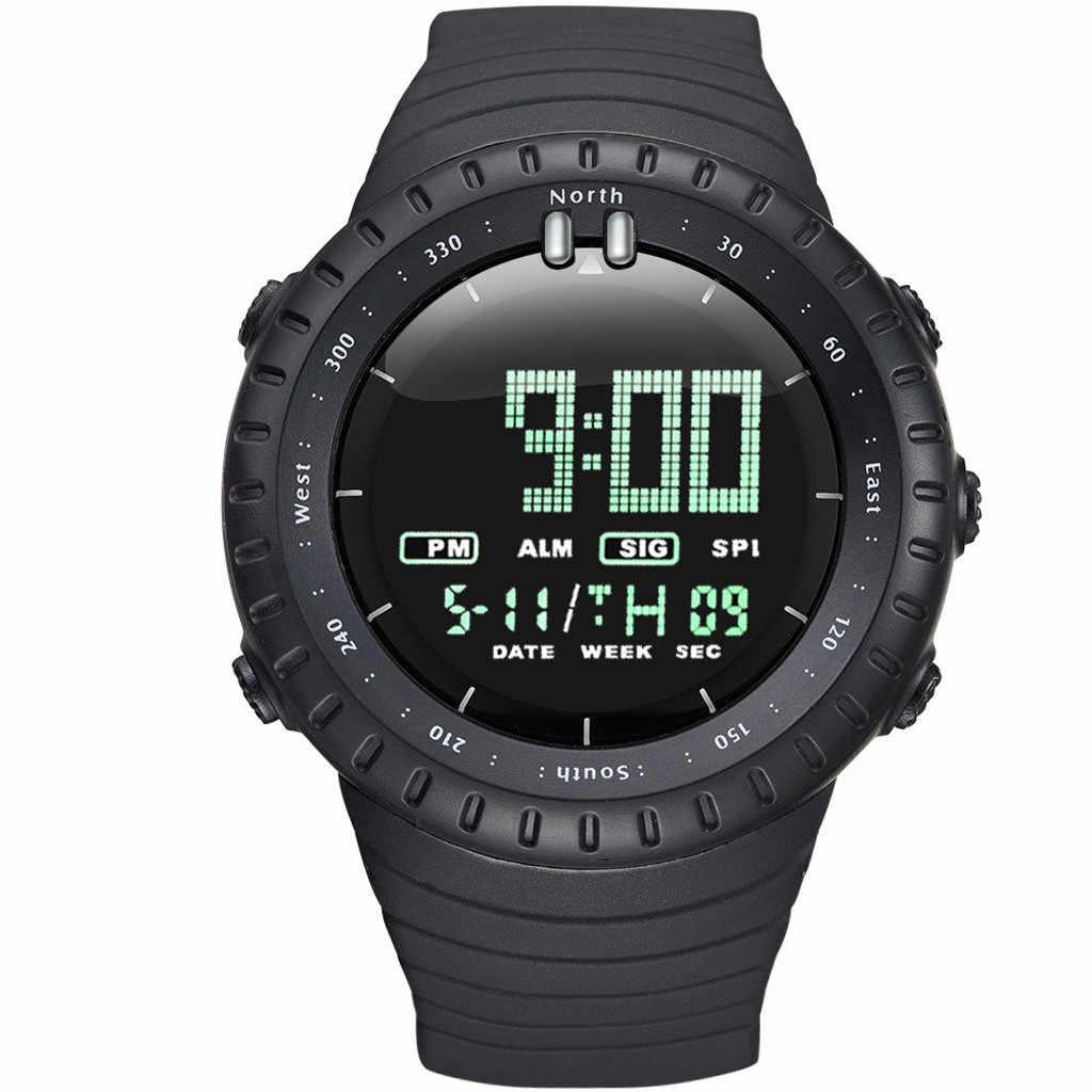 ผู้ชายกีฬานาฬิกา LED นาฬิกาดิจิตอลนาฬิกาผู้ชายนาฬิกานาฬิกาอิเล็กทรอนิกส์นาฬิกาผู้ชายนาฬิกา reloj hombre hodinky relogio masculino