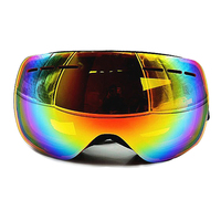 Double Lens Skiing Goggles Outdoor Sports Professional Snowing Snowboard Goggles UV400 Anti Fog Polarized Big Ski