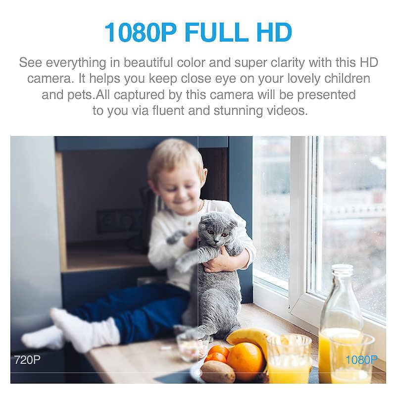 INQMEGA 1080P HD облачная Wifi камера интеллектуальное автоматическое отслеживание кошка Kitty ip-камера беспроводная домашняя камера безопасности ночного видения