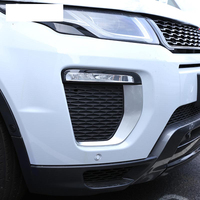 For Landrover Range Rover Evoque HSE Dynamic 2016 Car Accessories Front Fog Lamp Frame Trim ABS Chrome New Arrivals