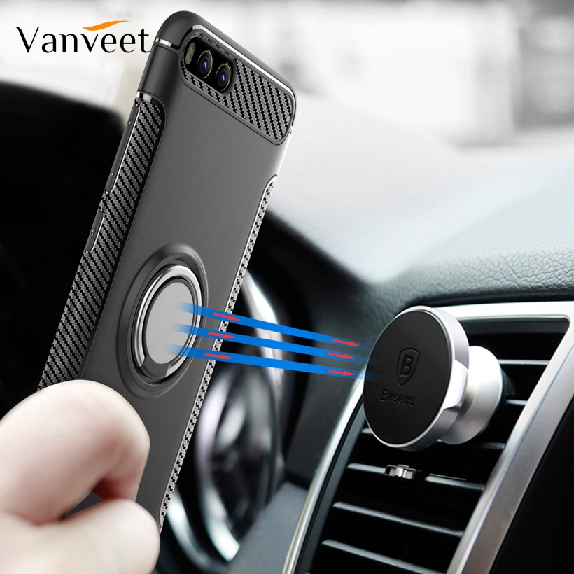 Gold Xiaomi Redmi Note 6 Pro Case DWaybox Hybrid Back Case with 360 Degree Rotation Ring Holder Compatible for Xiaomi Redmi Note 6//Redmi Note 6 Pro 6.26 Inch Compatible for Magnetic Car Mount Holder