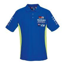 New 2018 moto gp For Suzuki Team ecstar Mens Polo Shirt Moto Sport GRX Men's Race Polo Shirt Racing ClothingTravel leisure tee