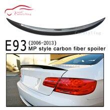 МП Стиль углеродного волокна Задняя накладка на Багажник крыло для BMW 3 серии E93 2-дверный Кабриолет 2006-2013 320i 325i 328i 330i