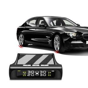 Tire Pressure Alarm TPMS Solar
