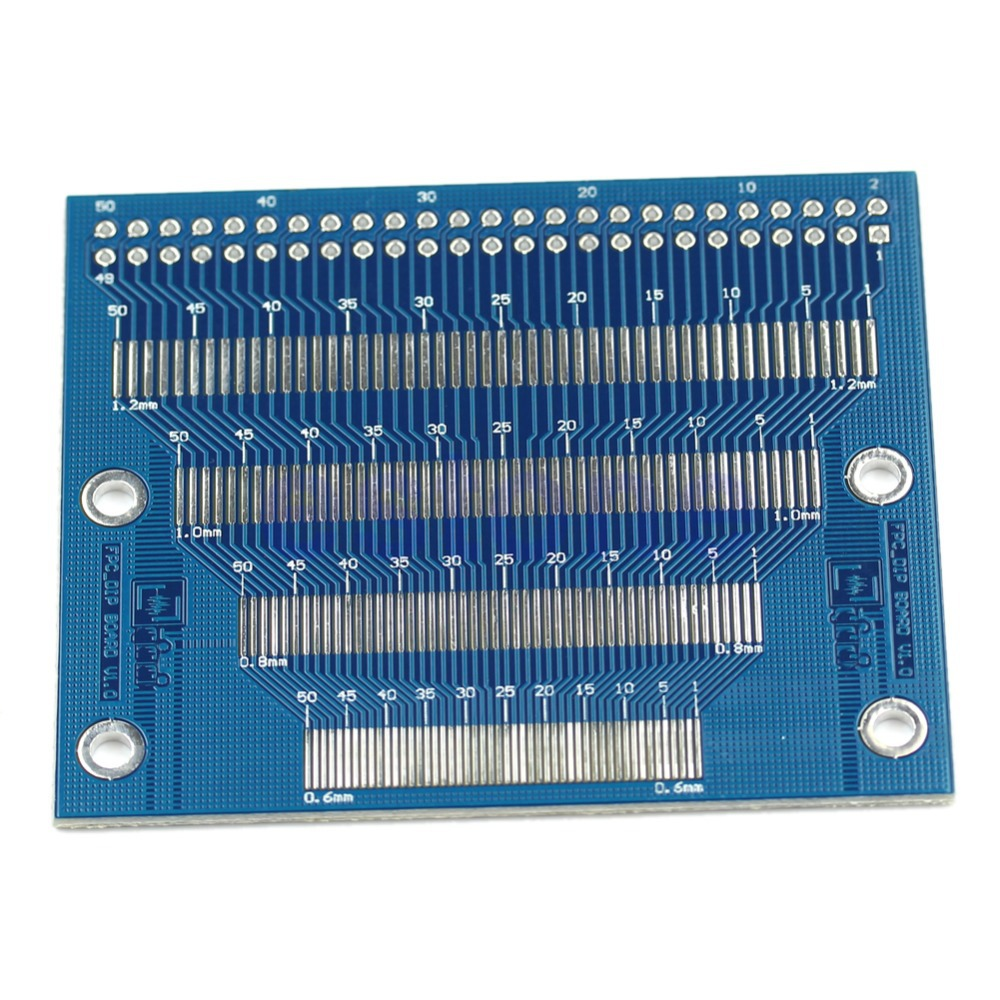 0.5mm To 1.2mm Pin Pitch Adapter PCB FPC Board 2.0-3.5inch TFT LCD SMD To DIP Electronic Module