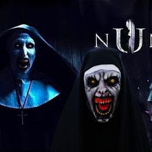 Halloween Horror Latex Zombie Nun Mask Full Face Covered With Headscarf For Adults And Children Cosplay Prank Props Scary Ghost