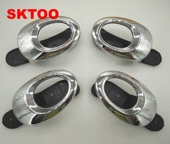 SKTOO 4 sztuk dla Lifan 330 klamka do drzwi klamka do drzwi wewnętrznych galwanizacja klamka do drzwi tanie i dobre opinie For Lifan330 0 5 kg other door handle lot (4 pieces lot) 0 4kg (0 88lb ) 30cm x 10cm x 10cm (11 81in x 3 94in x 3 94in)