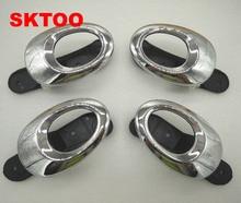 SKTOO 4pcs for Lifan 330 door handle inner electroplating