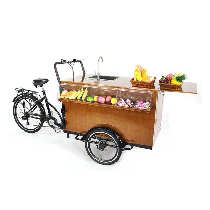 Ev Aletleri'ten Mutfak Robotları'de Kahve bisikleti gıda bisiklet arabası otomat sepeti kahve/gıda kamyonları mobil gıda römorkü sepeti