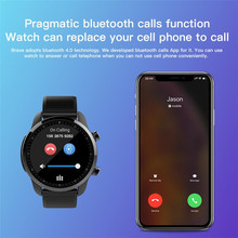 Brave Smart Watch for samsung gear s4 1.3 inch Screen Android 6.0 MTK6737 4g GPS WIFI Bluetooth heart rate Monitor Smartwatch(China)