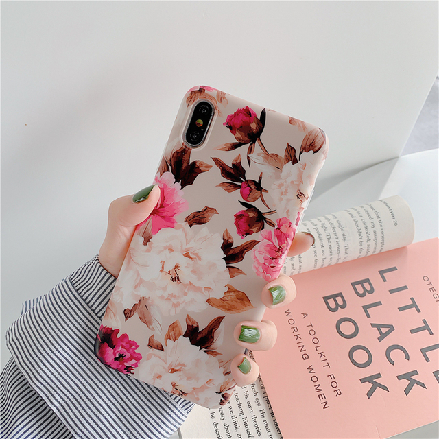 Rose Flower Phone Cases For Apple iPhone
