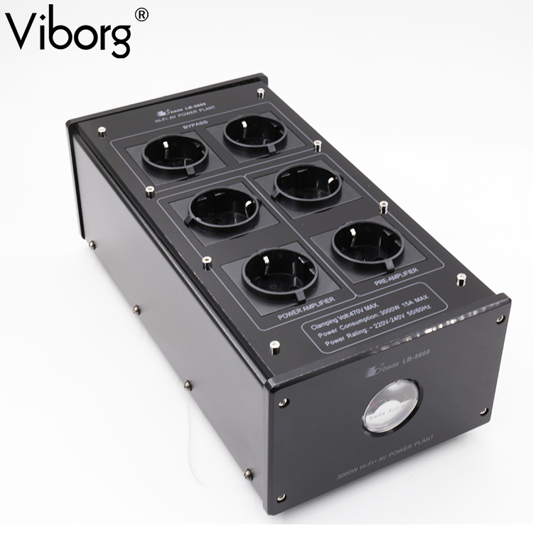 Bada LB 5600 HiFi Power Filter Plant Schuko Socket Brand New