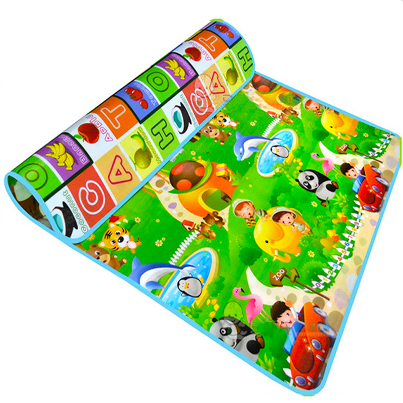 Baby Play Mat Kids Puzzles Alfombra Juguetes para niños Mat Desarrollo de alfombras para niños Alfombra Eva Foam Tapete de bebé Baby Mat Drop Envío