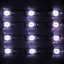 4 قطعة/الوحدة جديد وأصلي ل Konka LED32F2300NE شريط إضاءة 35017946 35017948 مصباح إضاءة خلفية LED قطاع 6 فولت