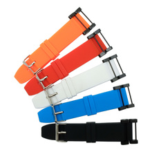купить 24mm Silicone Rubber Watchband For Suunto Core Essential Series Watch Band Strap Belt Repalce And 2Pcs screwdriver по цене 625.26 рублей