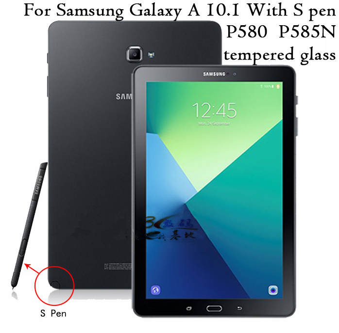 Tempered Glass HD Screen Protector Film 9H 0.3mm For Samsung Galaxy Tab 2 3 4 S A E Pro 8.4 8.0 9.7 10.1 A6 tablet glass Series
