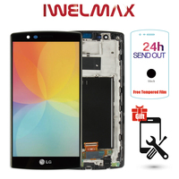 Single SIM Original 5 5 2560x1440 Display For LG G4 H815 LCD Touch Screen Digitizer Assembly
