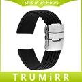 20mm Banda Fivela De Aço Inoxidável Pulseira Pulseira de Borracha de Silicone para Samsung engrenagem s2 r732 & r735 moto 360 2 gen clássico 42mm 2015