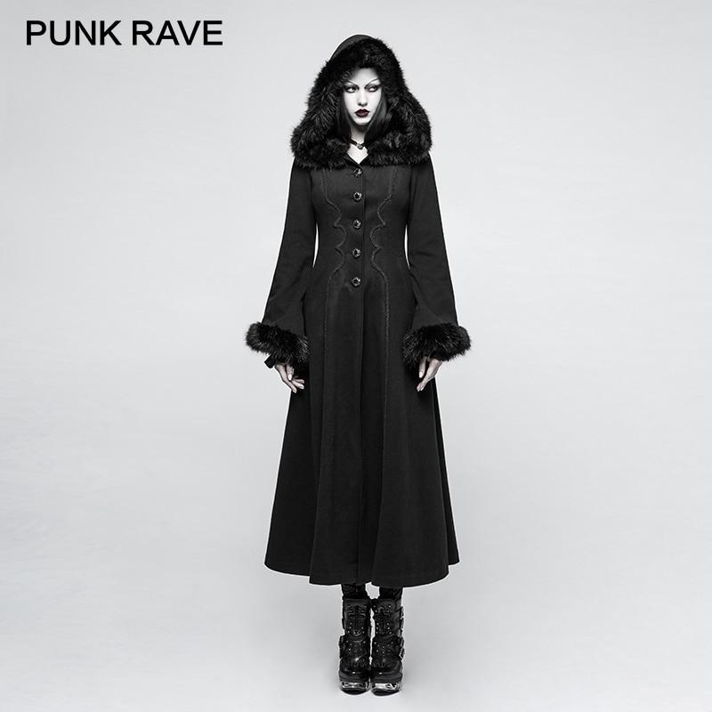 Gothic winter mantel