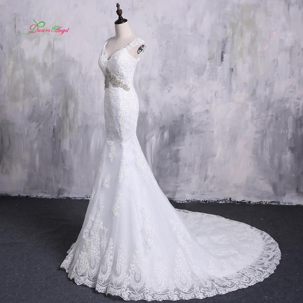 Aliexpress.com : Buy Dream Angel Detachable Train Mermaid Wedding ...
