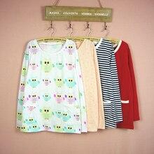 pajamas women A109 spring autumn long sleeves pajamas cotton