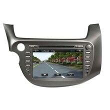 Для Honda Fit Jazz LHD 2007 2008 android5.1.1 HD 1024*600 автомобильный dvd-плеер GPS Navi авторадио 3 г wi-Fi OBD2 DVR навигации бесплатную карту