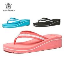 Brand Flip Flops Women Platform Sandals Summer Shoes Woman Beach Flip Flops for Women's Fashion Casual Ladies Wedges Shoes