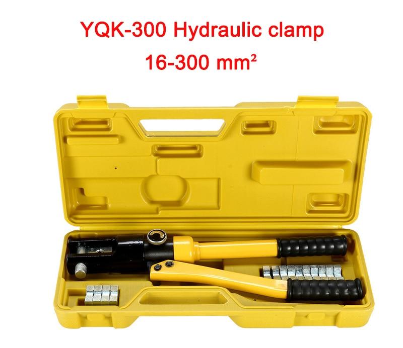 Free shipping by DHL 3pcs 16-300MM crimping range Hydraulic crimping tool 12T pressure YQK-300 free shipping 16 400mm2 baterry hydraulic crimper crimping tool