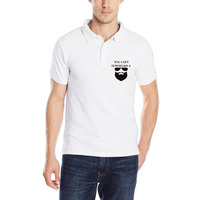New Arrivel YOU CAN T DOWNLOAD A BEARD Man S Polo Shirt Golf CrossFit Breathable Solid