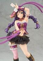 Japanese Anime Action Figure Love Live Nozomi Tojo PVC Figure Beach Queens Girl PVC Figure Resin