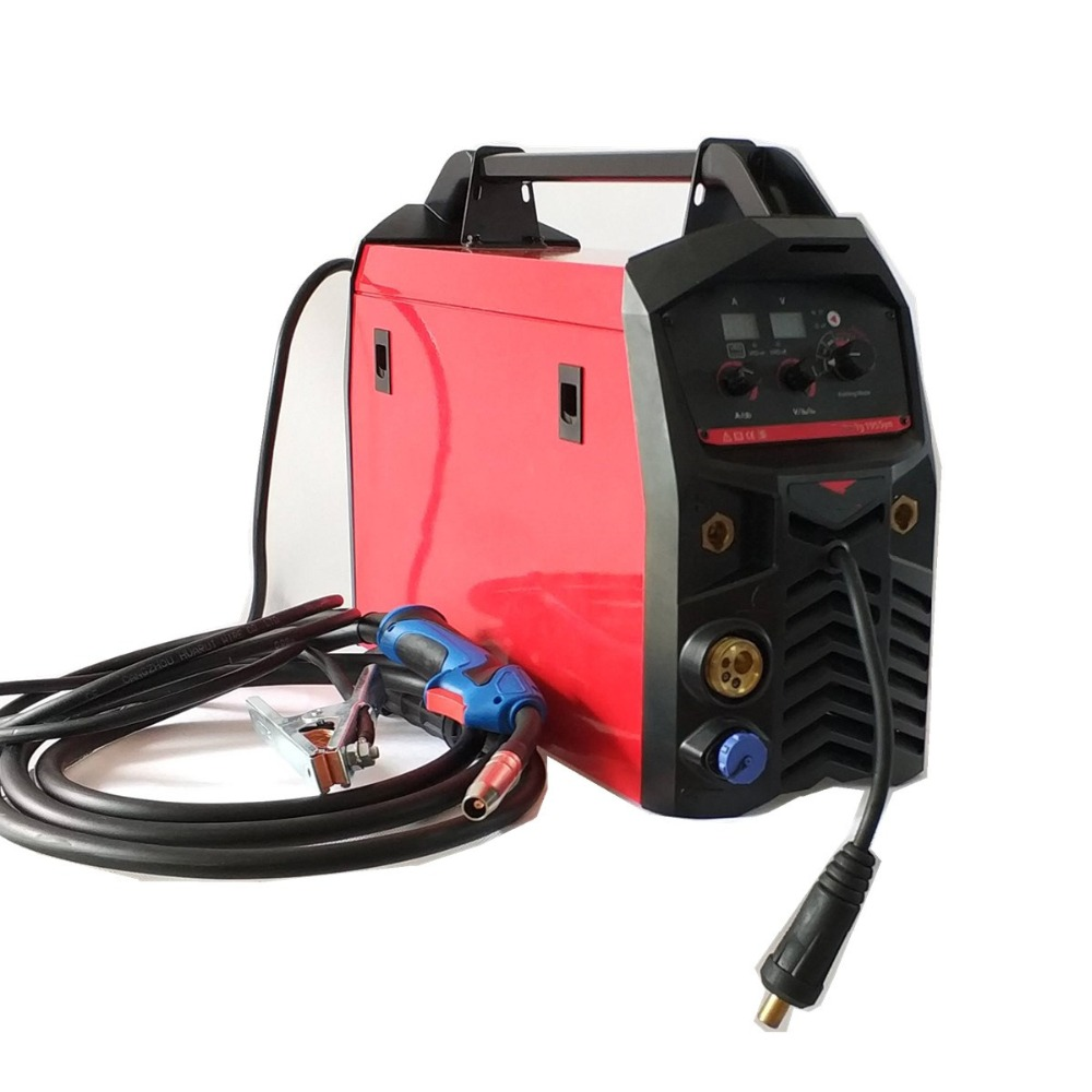 Professional 195A Synergic MIG Welding Machine 4in1 Multifunction Welding Equipment MIG MAG MMA TIG Spool Gun Combined Welder