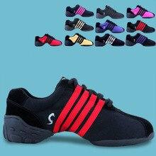 Zapatillas de baile de la nueva llegada de lona de las mujeres moderno Jazz  zapatos de baile cuadrados zapatos de los hombres de. 51de8eb99c6