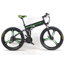 Electric Bike 26 inches 350 W Motor 48 V 7.8 AH  24 Speed Snow MTB Folding Electric Bicycle
