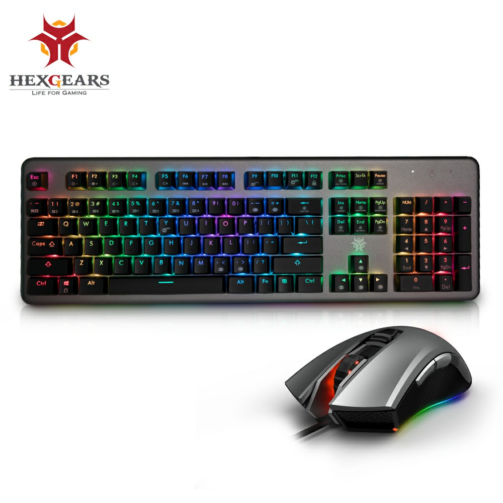 HEXGEARS Keyboard Mouse Set Keyboard Mouse Combo M33 Mouse Mechanical Keyboard with Backlight RGB Macro Mechanical Mouse hexgears 6000 keyboard mouse set keyboard mouse combo gm201 mouse mechanical keyboard with backlight rgb macro mechanical mouse