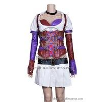 Batman Cosplay Nurse Harley Quinn Costume Skirt Outfits Full Set Clothing Fast Shipping Shirt Party Dress Halloween Costume