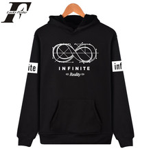 Infinite Hoodies Autumn Winter 2017 Hoodies for Men Hoodie and Sweatshirt Brand Men's  Clothing black /white hoodie Infinite