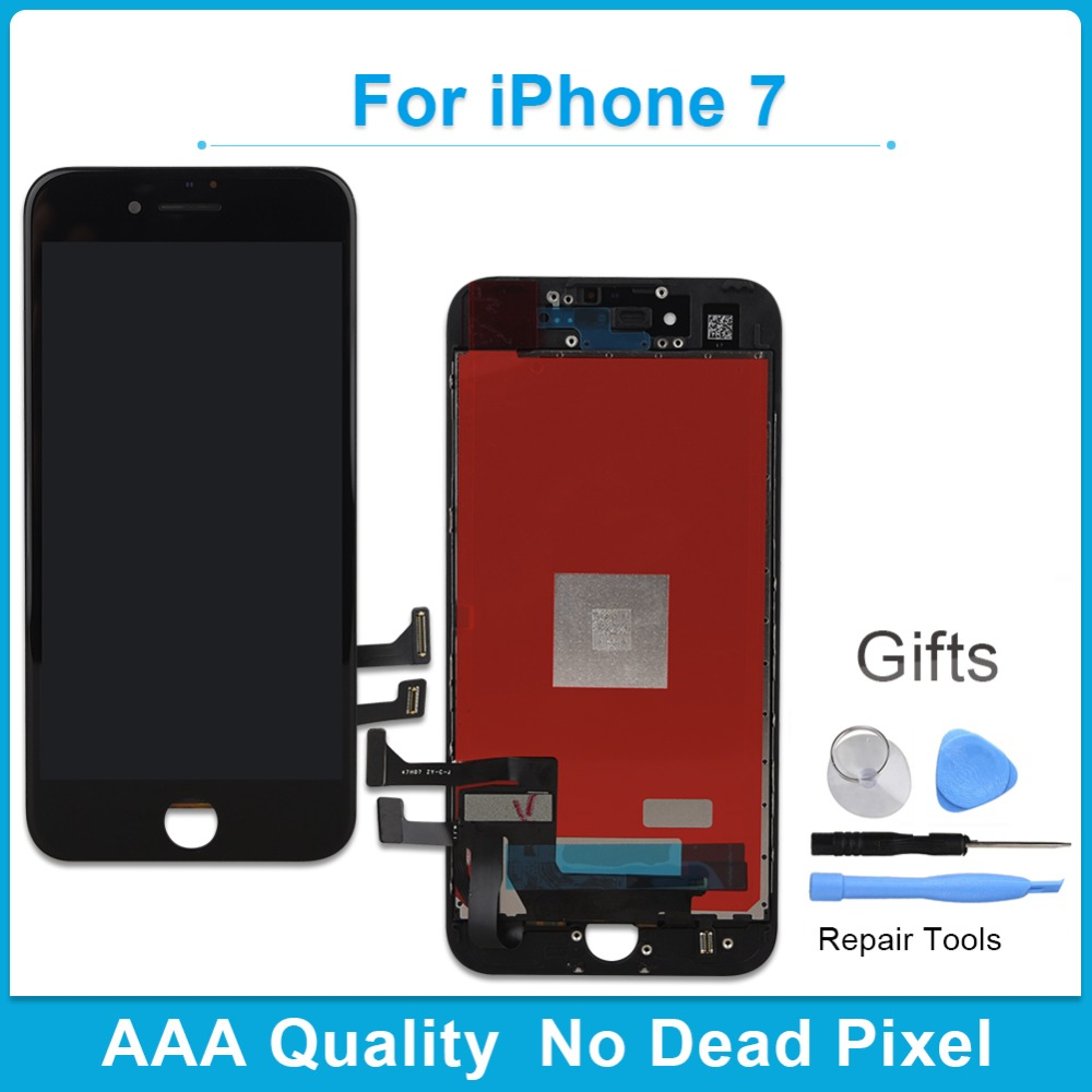 KHISOL 2018 No Dead Pixel Screen LCD For iPhone 7 LCD