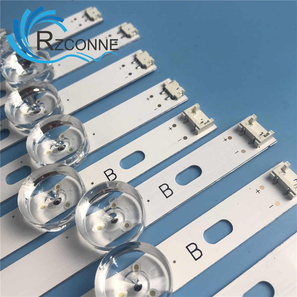 "Led Backlight Strip 8 Lamp Voor Lg 42 Inch Tv Innotek Drt 3.0 42 ""6916L 1709B 1710B 1957E 1956E 6916L-1956A 6916L-1957A 42LB561v"
