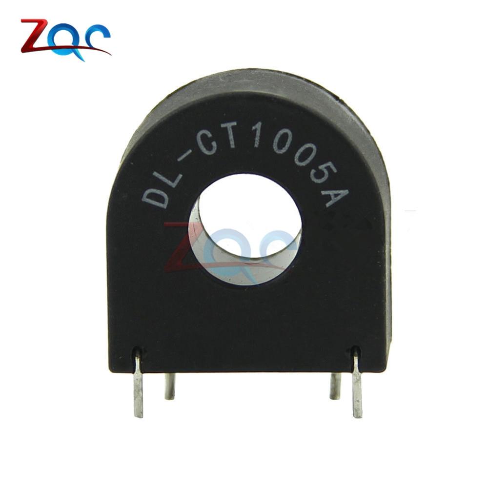 DL-CT1005A 10A/5mA Wear Core Type AC Miniature Current Transformer Sensor цены онлайн
