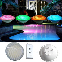 Par56 LED Bulb54W 12V AC DC Par 56 Lamp Swimming Pool Lighting RGB IP68 Underwater Light
