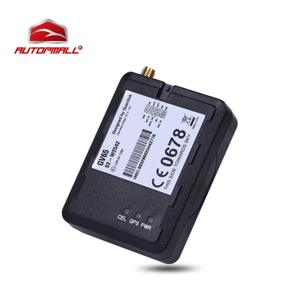 Queclink GPS трекер GNSS устройства слежения ГЛОНАСС локатор gv65 плюс автомобиля gsm трек U-Blox 8 В-32 В dc вождения поведение Мониторы