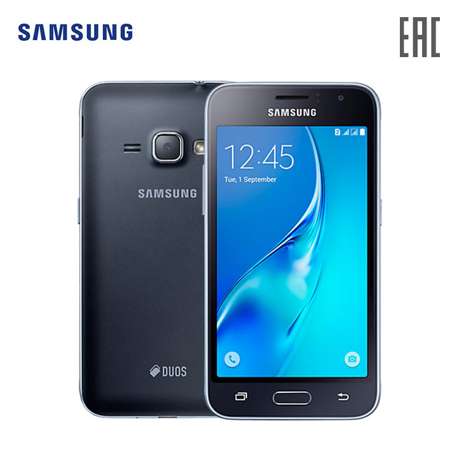 Smartphone Samsung Galaxy J1 (2016) SM-J120 8 GB LTE android cell phones original   gsm 4g DUAL SM-J120